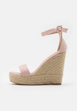 Glamorous - Sandalen met hoge hak - dusty pink