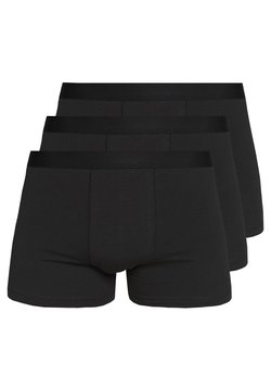 Pier One - 3 PACK - Shorty - black/black/black