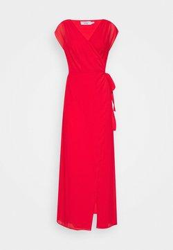 NA-KD - PAMELA REIF X NA-KD OVERLAPPED DRESS - Vestido largo - red