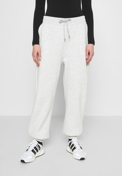 Nly by Nelly - PERFECT SLOUCHY PANTS - Jogginghose - grey mélange