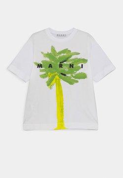 Marni - MAGLIETTA UNISEX - T-Shirt print - emerald green