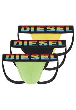 Diesel - 3 PACK - Slip - black/yellow/green