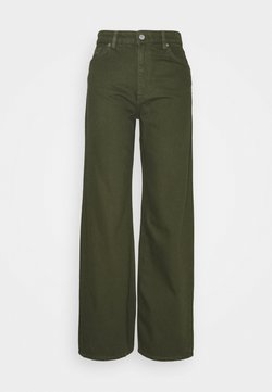Monki - YOKO  - Relaxed fit -farkut - green dark