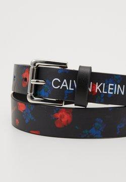 Calvin Klein Jeans - DIGITAL FLOWER BELT - Bælter - black