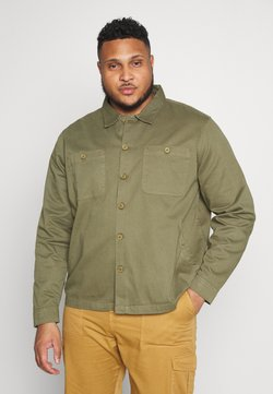 Another Influence - PLUS WORKER JACKET - Summer jacket - khaki