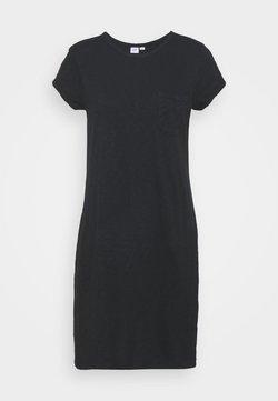 GAP - TEE DRESS - Jersey dress - true black