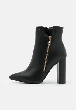 RAID Wide Fit - TOP UP KEYLA WIDE FIT  - High heeled ankle boots - black