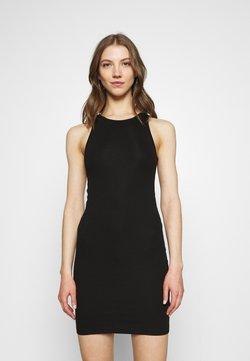 Weekday - STELLA SHORT DRESS - Etuikjoler - black