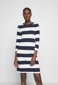GANT - BARSTRIPED  - Etuikleid - evening blue
