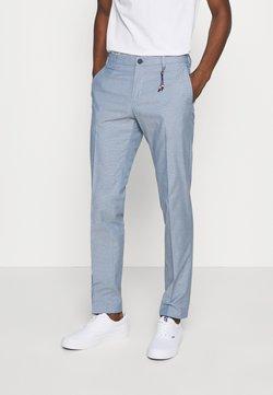 Tommy Hilfiger Tailored - FLEX STRUCTURE SLIM FIT PANT - Broek - blue