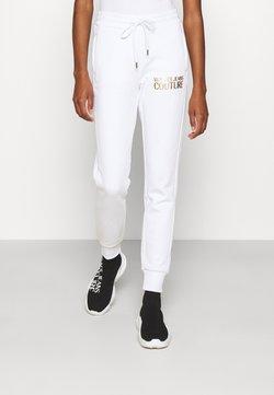 Versace Jeans Couture - PANTS - Jogginghose - white