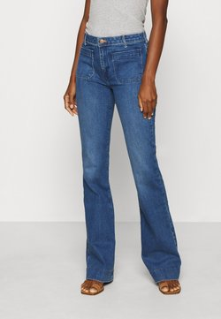 Wrangler - Flared jeans - sunday blues