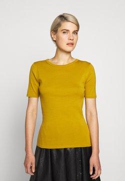 J.CREW - CREWNECK ELBOW SLEEVE - T-shirt basic - bronzed olive