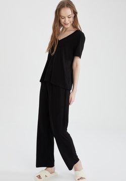 DeFacto - SET - Pyjama - black