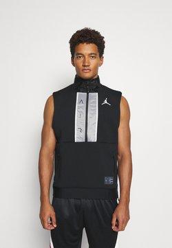 Jordan - AIR VEST - Tekninen urheilupaita - black/white