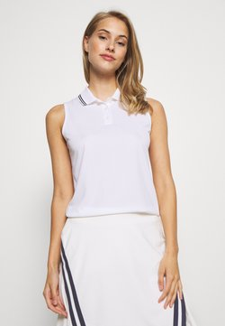 Nike Golf - DRY VICTORY - Funktionsshirt - white/black