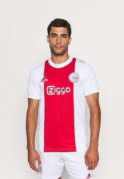 adidas Performance - AJAX AMSTERDAM  - Pelipaita - white/team colleg red