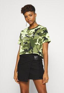 Karl Kani - SIGNATURE CROP WIDE TEE - T-Shirt print - green