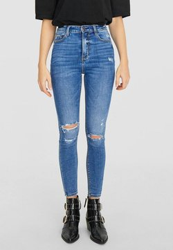 Stradivarius - Jeans Skinny Fit - light blue