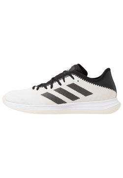 adidas Performance - ADIZERO FASTCOURT  - Håndboldsko - footwear white/core black/solar red
