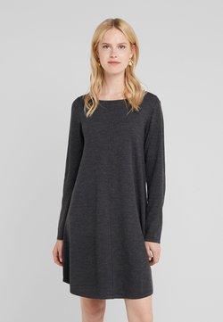Repeat - Vestido de punto - dark grey