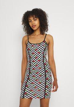 NEW girl ORDER - CHERRY CHECKERBOARD DRESS - Freizeitkleid - multi