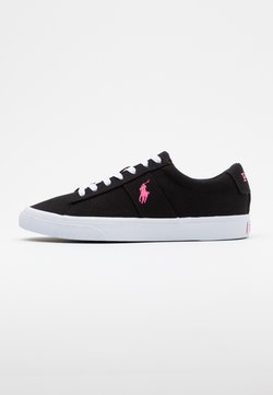 Polo Ralph Lauren - SAYER - Sneakers laag - black/pink