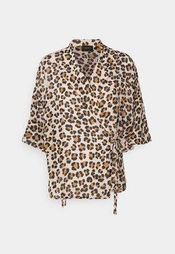 LIU JO - BLUSA - T-Shirt print - beige