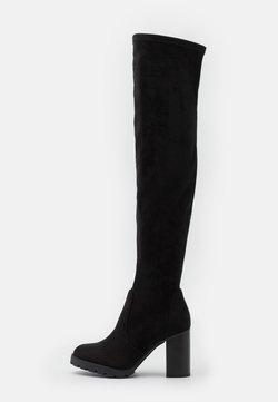 Buffalo - MADYSON - Laarzen met hoge hak - black