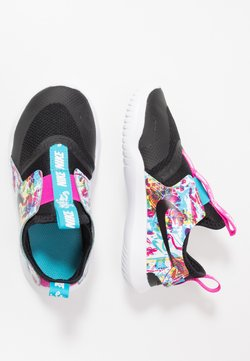 Nike Performance - FLEX RUNNER FABLE - Zapatillas de running neutras - black/white/fire pink/blue fury