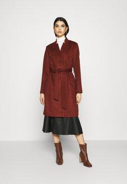 Selected Femme - SLFMELLA COAT - Manteau classique - bordeaux