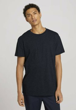 TOM TAILOR DENIM - T-shirt print - dark blue stripe