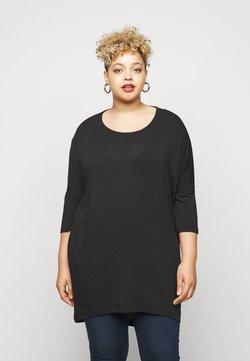 Vero Moda Curve - VMHONIE LOOSE - Langarmshirt - black beauty