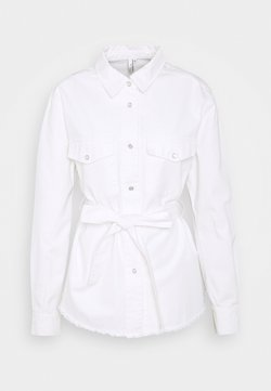 Nly by Nelly - BELTED WORKER - Bluse - white