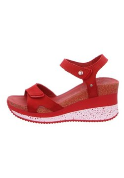 Panama Jack - Wedge sandals - rojored