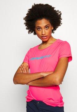 Dynafit - TRAVERSE TEE - T-Shirt print - fluo pink