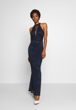 WAL G. - HALTER NECK - Robe de cocktail - navy blue