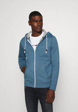 Tommy Jeans - ZIPTHROUGH - veste en sweat zippée - audacious blue