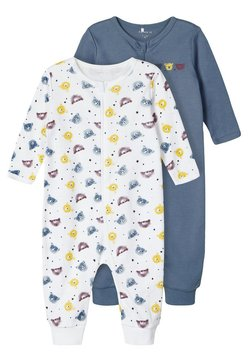 Name it - 2er-PACK - Pyjama - china blue