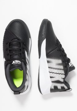 Nike Performance - TEAM HUSTLE QUICK 2 UNISEX - Zapatillas de baloncesto - black/white/anthracite/volt