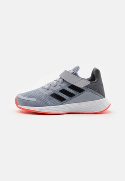 adidas Performance - DURAMO SL UNISEX - Obuwie hikingowe - core black/solar red
