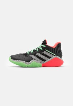 adidas Performance - HARDEN BOUNCE BASKETBALL SHOES UNISEX - Indoorskor - core black/grey two/glow mint
