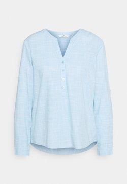 TOM TAILOR - BLOUSE SLUB STRUCTURE - Bluse - clear light blue
