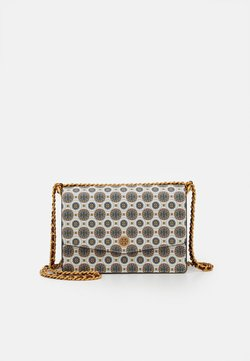 Tory Burch - ROBINSON BATIK PRINT MINI SHOULDER BAG - Torba na ramię - ivory