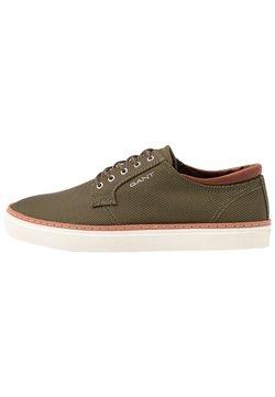 GANT - PREPVILLE - Sneaker low - dark olive