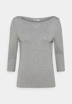 ONLY - ONLAYA BOATNECK - Langarmshirt - light grey