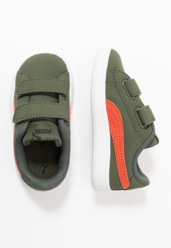 Puma - SMASH BUCK  - Sneaker low - thyme/black