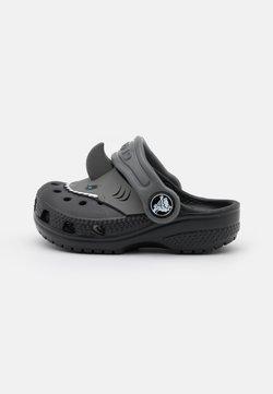 Crocs - CLASSIC I AM SHARK - Muiltjes - black