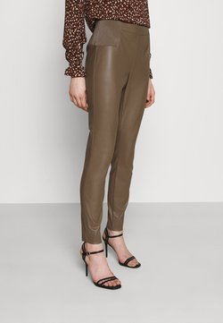 ONLY - ONLMINDY - Leggings - Trousers - walnut