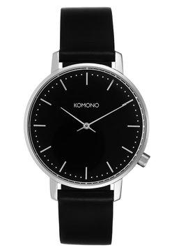 Komono - THE HARLOW - Montre - black/silver-coloured